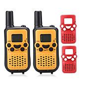 T899BR Walkie Talkie 0.5W 8 Channels 400-470MHz AAA alkaline battery 3KM-5KM VOX / Pantalla LCD / Monitor / Escanear N/ARadio Emisor -