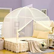 蚊帳 純色 4個 先染 ツインサイズの場合、枕カバーが1枚しか含まれていません.