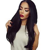 Mujer Pelucas de Cabello Natural Cabello humano Agarre en U 130% Densidad Liso Encrespado Peluca Color natural Corto Medio Largo Entradas