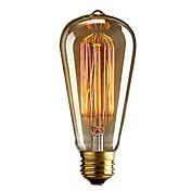 e27 / e26フィラメント電球レトロヴィンテージ産業白熱電球36-40w
