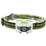 自転車用ライト LED - サイクリング ミニ 防水 スマールサイズ ナイトビジョン コンパクトデザイン 単四電池 1200 ルーメン バッテリー レッド クールホワイト サイクリング