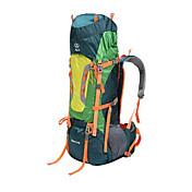 80 L バックパッキング用バックパック リュックサック 登山 キャンピング&ハイキング 旅行 断熱 防水 防雨 防塵 耐久性 高通気性 防湿 横滑り防止 耐衝撃性の 多機能の テリレン Sheng yuan