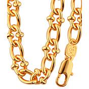 Hombre Mujer Juego de Joyas Collar / pulsera Joyas Moda Forma de Círculo Forma Geométrica Collares Para Boda Fiesta Diario Casual Regalos