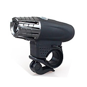 自転車用ライト 自転車用ヘッドライト LED - サイクリング 充電式 防水 スマールサイズ ナイトビジョン コンパクトデザイン ワイヤレス リチウム電池 200 ルーメン USB クールホワイト サイクリング