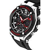 SANDA Hombre Reloj Deportivo Reloj Militar Reloj elegante Reloj de Moda Reloj de Pulsera Digital Cuarzo Japonés Cronógrafo Resistente al