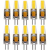 ywxlight®4w g4スポットライト1コブ300-400 lm暖かい白コールドホワイト装飾v 10個AC 12v / dc12-24v