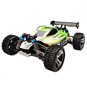Coche de radiocontrol  WL Toys A959-B 2.4G 4WD Alta Velocidad Drift Car Off Road Car Buggy (de campo traversa) 1:18 Brush Eléctrico 70km/h