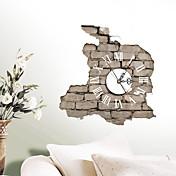 casas modernas / contemporáneas reloj de pared 3d reloj creativo interior de la pared