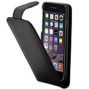 Para Funda iPhone 7 / Funda iPhone 6 / Funda iPhone 5 Soporte de Coche / Flip Funda Cuerpo Entero Funda Un Color Dura Cuero Sintético