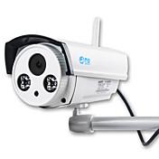 jooan® cámara de ip de 1.0mp al aire libre ir-cut día detección de movimiento nocturno acceso remoto wi-fi a prueba de agua)