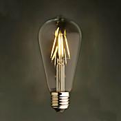 rav 2w edison stil 2200k st64 keramisk led filament pære e27