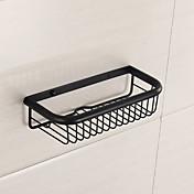 accesorios de baño acabado pulido de espejo para cepillos de dientes de material de latón macizo