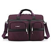 Coolbell 17.3 bolso de hombro de nylon del bolso del mensajero de la cartera del ordenador portátil de la pulgada para el negocio cb-5003