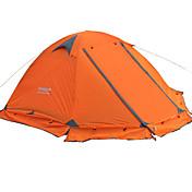 FLYTOP 2 Personas Tienda Doble Carpa para camping Una Habitación Tiendas de Campaña para Senderismo Mantiene abrigado A Prueba de Humedad
