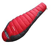 Bolsa de dormir Saco Mummy Plumón de Pato -15-20°C A Prueba de Humedad Portátil Secado rápido Resistente al Viento Transpirabilidad 220X80