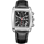 MEGIR Hombre Reloj de Pulsera Reloj Militar Reloj de Vestir Reloj de Moda Reloj Deportivo Cuarzo Digital Calendario Cronógrafo Resistente