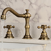 Bathroom Sink Faucet - Widespread Antique...