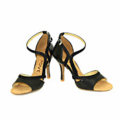 Women's Latin Shoes / Salsa Shoes Leather...