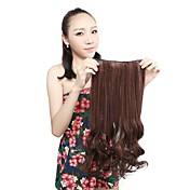 Con Clip sintético Extensiones de cabello 110G 20inch La extensión del pelo