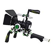 yelangu DSLRリグ設定ムービーキットの肩はsunsmart camcordersbyすべてのデジタル一眼レフカメラやビデオのフォローフォーカスマットボックスとトップハンドルとリグをマウント