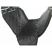 Gato Perro Cobertor de Asiento Para Coche Mascotas Colchonetas y Cojines Impermeable Transpirable Plegable Suave Negro Marrón Algodón