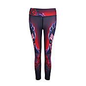 Mujer Pantalones ajustados de running Camiseta interior Leggings de gimnasio Secado rápido Transpirable Suave Cómodo Prendas de abajo