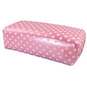 1PCSピンクハンドクッション枕ネイルアートマニキュア長方形