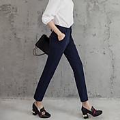 2017符号パンスト女性のパンツはスリム細い腰のズボンカジュアルパンツの足のズボンを伸ばします