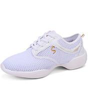 Mujer Zapatos de Jazz / Zapatillas de Baile / Zapatos de Baile Moderno Tejido Suela Dividida Tacón Cuadrado No Personalizables Zapatos de