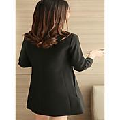 サインドレスの春2017新しい女性'長いセクション底スカートのSブラックスリム長袖た薄い韓国語バージョン