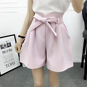 2016 verano nueva versión coreana de la amplia pierna pantalones pantalones cinco pantalones