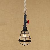 Retro Campestre Lámparas Colgantes Para Sala de estar Comedor Habitación de estudio/Oficina Hall AC 100-240V Bombilla incluida