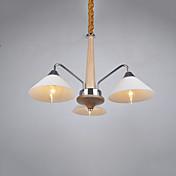 Moderno/Contemporáneo Campestre Lámparas Araña Para Sala de estar Dormitorio Cocina Comedor Habitación de estudio/Oficina AC 100-240V