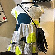 女の子の カジュアル/普段着 水玉 コットン ドレス 夏