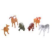 Juguete Educativo Juguetes Caballo Cebra Elk Hipopótamo Animales Venados Chico 6 Piezas