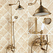 Shower Faucet - Antique Antique Copper Ce...