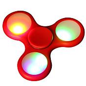 Fidget spinners Hilandero de mano Juguetes Tri-Spinner Spinner LED Alta Velocidad Alivio del estrés y la ansiedad Juguetes de oficina