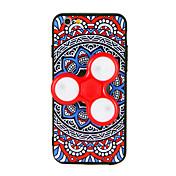 用途 ケース カバー ハンドスピナー パターン DIY バックカバー ケース 曼荼羅 3Dカトゥーン ハード TPU のために Apple iPhone 7プラス iPhone 7 iPhone 6s Plus iPhone 6 Plus iPhone 6s iphone 6