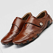 Men's Shoes Leather Summer / Fall Comfort...