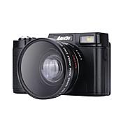 Cámara digital amk-cdr2 max 24mp rodamiento 3 pulgadas hd tft pantalla 4x digital zoom camcorder 1080p negro