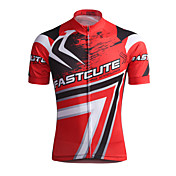 Fastcute Maillot de Ciclismo Hombre Manga Corta Bicicleta Camiseta/Maillot Top Secado rápido Transpirable Reductor del Sudor Coolmax