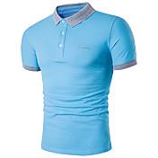 Men's Active Plus Size Cotton Slim Polo -...