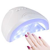 48W ネイルドライヤー UVランプ LEDランプ ネイルポリッシュUVジェル