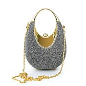 Women's Bags Polyester / Suede / Satin Cl...