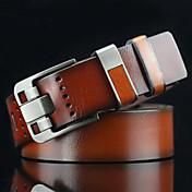 Hombre Cortado Vintage Casual Aleación Cinturón de Cintura