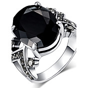 女性用 ステートメントリング 指輪 クリスタル ベーシック ユニーク ラインストーン ファッション ビンテージ ボヘミアスタイル あり 欧米の トルコ語 高級ジュエリー ステートメントジュエリー クラシック コスチュームジュエリー 樹脂 ジュエリー ジュエリー 用途 結婚式