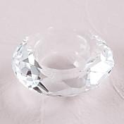 decoraciones de mesa con candelabro de cristal \ preciosos favores prácticos