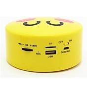 Bluetooth 2.1 USB altavoces inalámbricos Bluetooth Beige Amarillo Marrón Naranja y Blanco Dorado