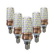 5pcs 16 W 1200 lm E14 / E26 / E27 LED Cor...