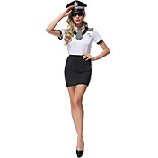 警官 キャリアコスチューム コスプレ衣装 パーティーコスチューム 女性用 ハロウィーン カーニバル イベント/ホリデー ハロウィーンコスチューム プリント